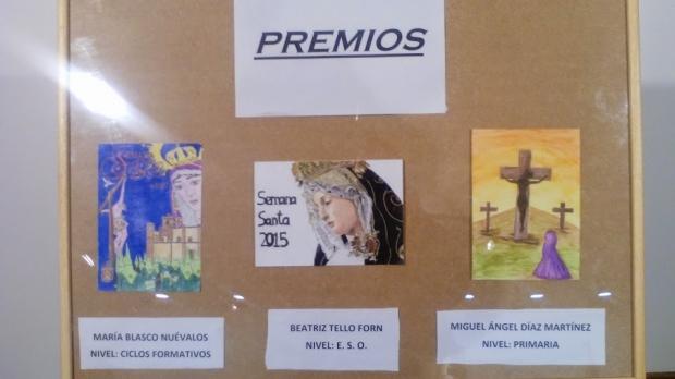 PREMIOS DEL 1º CONCURSO DE TARJETAS DE SEMANA SANTA