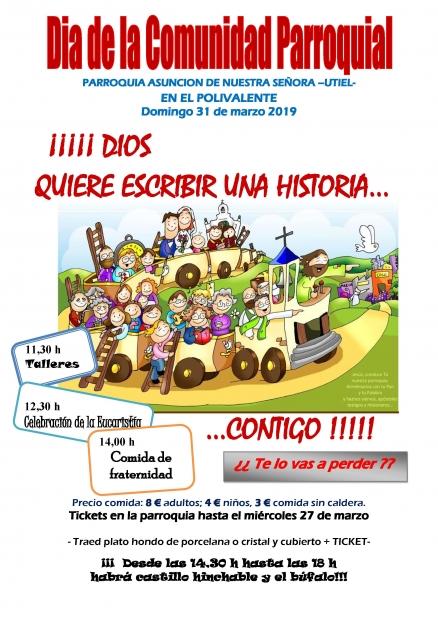 DIA DE LA COMUNIDAD PARROQUIA. 29 DE MARZO 2019
