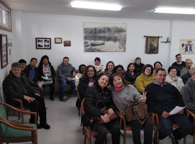 Convivencia de miembros de la Familia MERCEDARIA