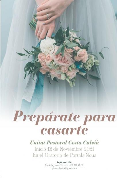 Prepårate para casarte