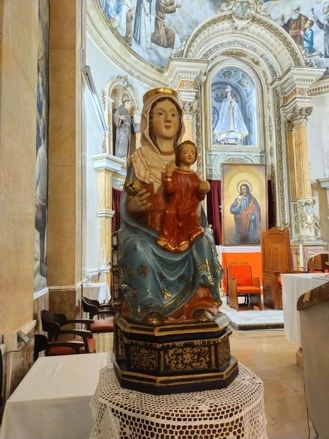 La Mare de Déu del Pòpul ya está en nuestra Parroquia