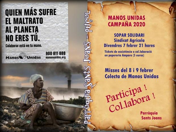 MANOS UNIDAS 2020