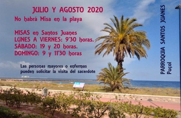 JULIO Y AGOSTO 2020