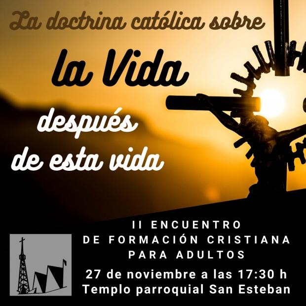 II Encuentro de Formación Cristiana para adultos