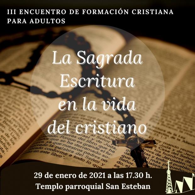III Encuentro de Formación cristiana para adultos