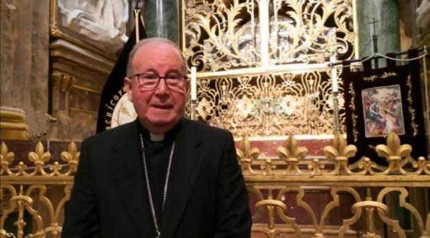 Nuestro Obispo celebra sus bodas de oro sacerdotales.