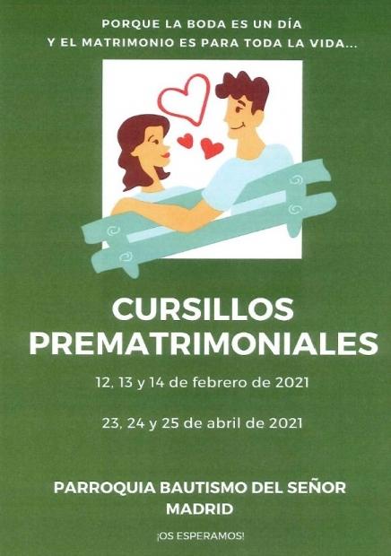 Cursillos Prematrimoniales en nuestra Parroquia...