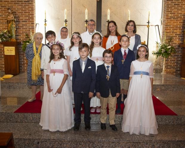 Celebración del sacramento de la Eucaristía...