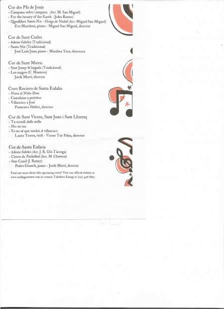 Concierto de coros del arciprestado norte