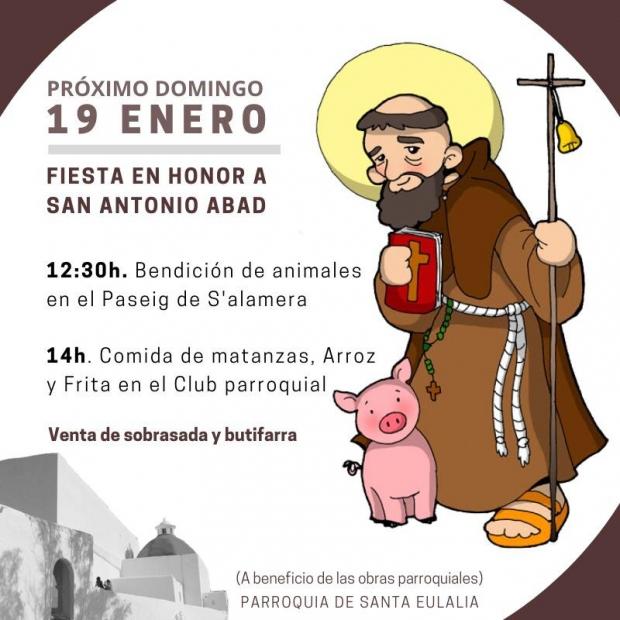 Fiesta en honor a San Antonio Abad