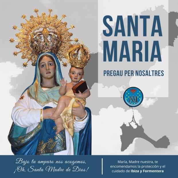 Santa Maria reza por nosotros