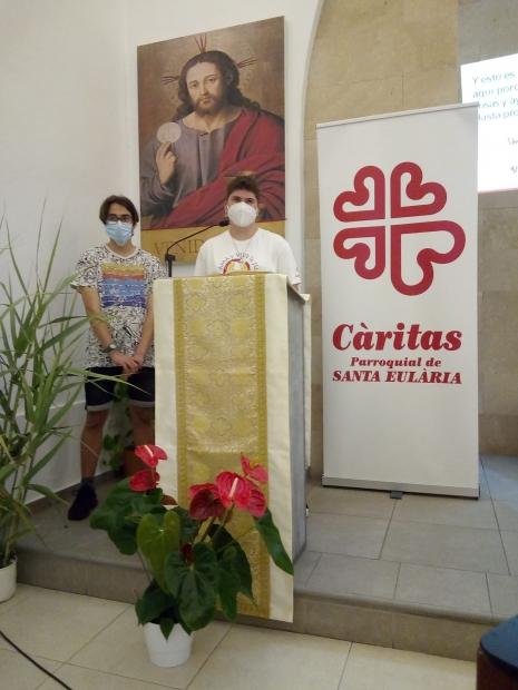Testimonio de jóvenes de Cáritas Santa Eulalia