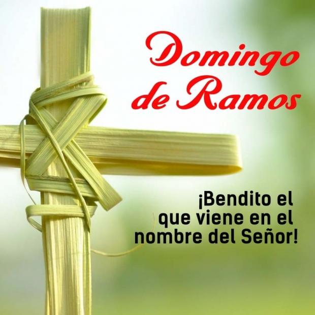 DOMINGO DE RAMOS: CON LOS CRUCIFICADOS...
