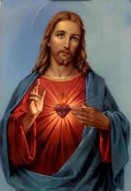 Mes del Sagrat Cor de Jesús