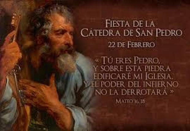 FIESTA CÁTEDRA DE SAN PEDRO