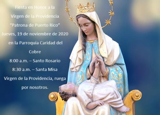 Misa en Honor a la Virgen de la Providencia