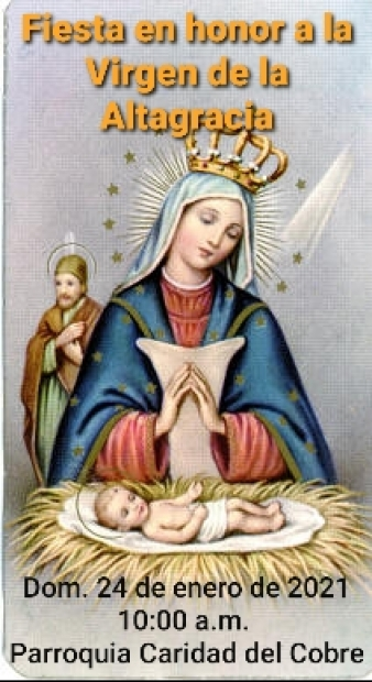 Fiesta en honor a la Virgen de la Altagracia