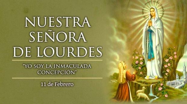Ntra. Sra. de Lourdes - Jornada del Enfermo - 11 de febrero de 2021