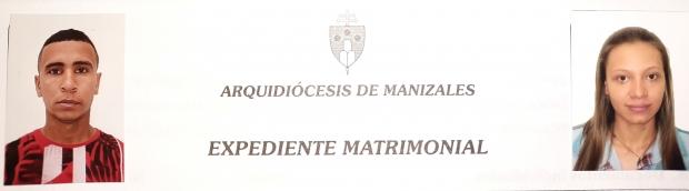 Matrimonio de Robinson Andrés Ramírez con Jineth Dahiana Guerrero