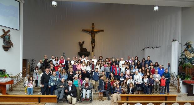 Celebración de San Pablo de la Cruz.