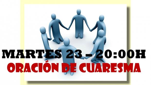 Oración del 23 Marzo