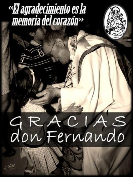 Despedida de Don Fernando Navarro como rector de la basílica