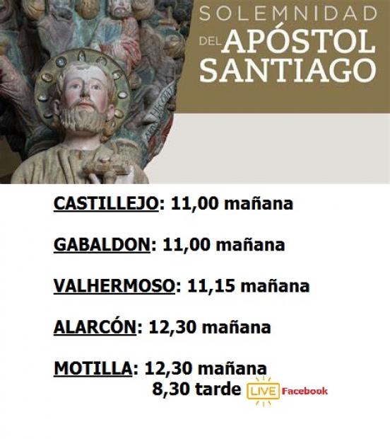 Solemnidad del Apóstol Santiago