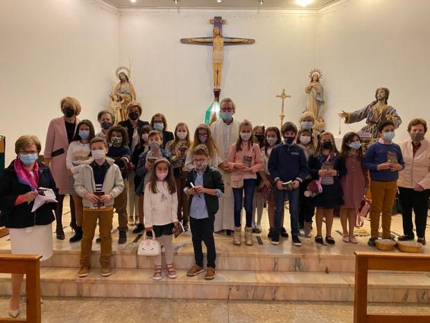 Misa en Família C.E.I.P. San Roque y Laude Newton College