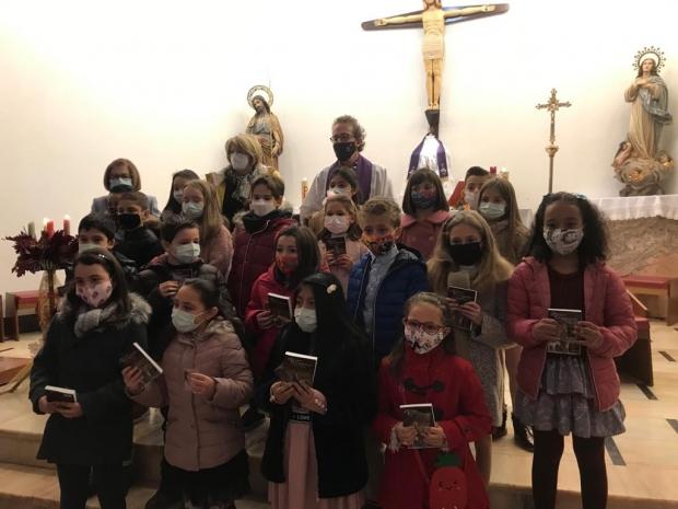 Misa en Familia  C.E.I.P. Rafael Altamira-Oratorio festivo y Santo Domingo.