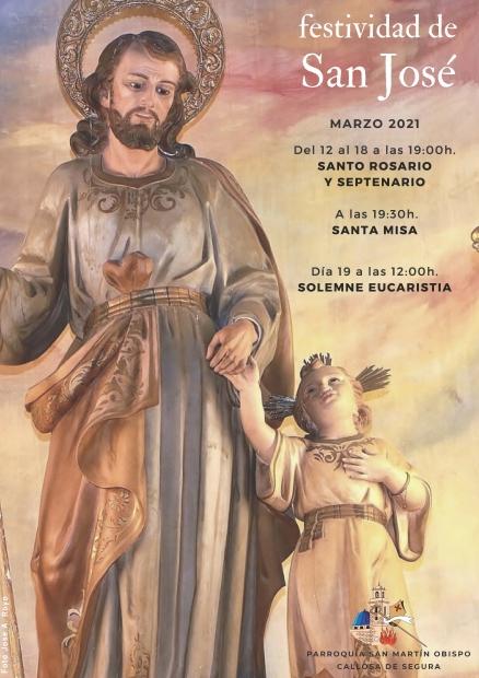 Actos para la Festividad de San José (Parroquia San Martín Obispo)