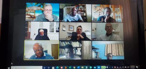 ZOOM: Encuentro de Provinciales y Superiores Mayores - UCNAC - 2021 (Unión de Circunscripciones de Norte América y el Caribe)