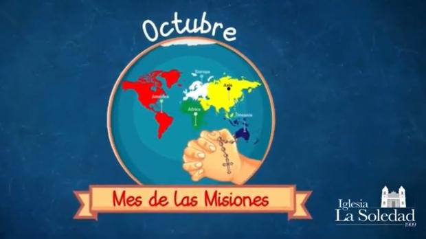 Octubre: Mes de las misiones