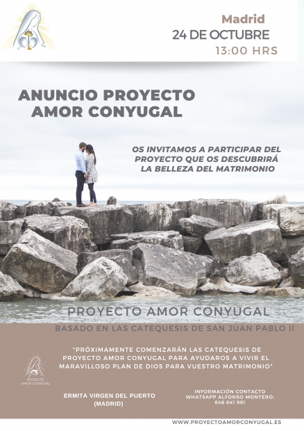 Amor Conyugal (Domingo, 24 de octubre a las 12.45 horas)